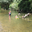 Swimming in the Argens