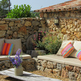 Lounge corner luxurious holidayhome Cotignac